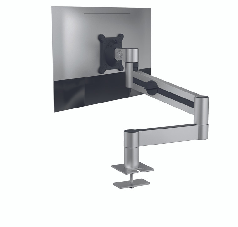 Monitor Mount with Arm for 1 Screen, Through Desk