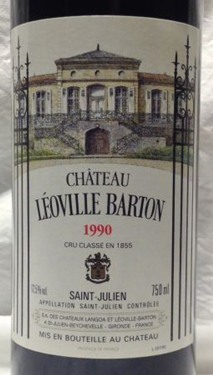 1990 Chateau Leoville Barton, St. Julien