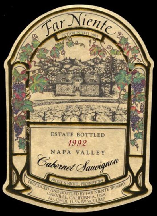 1992 Far Niente, Cabernet Sauvignon, Napa Valley