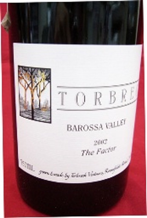 2002 Torbreck Shiraz The Factor