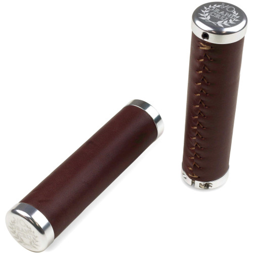 Velo Orange Lock-On Leather Grips