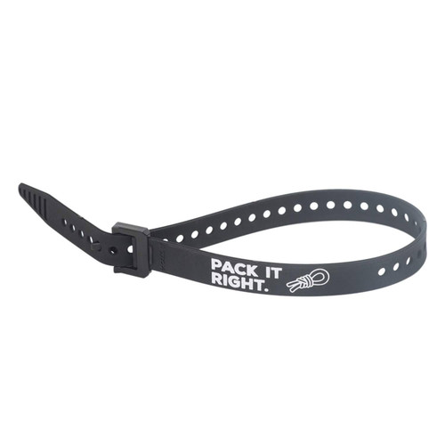 """RAL 'Pack It Right' Voile Strap 20"""" Nylon Buckle Black"""