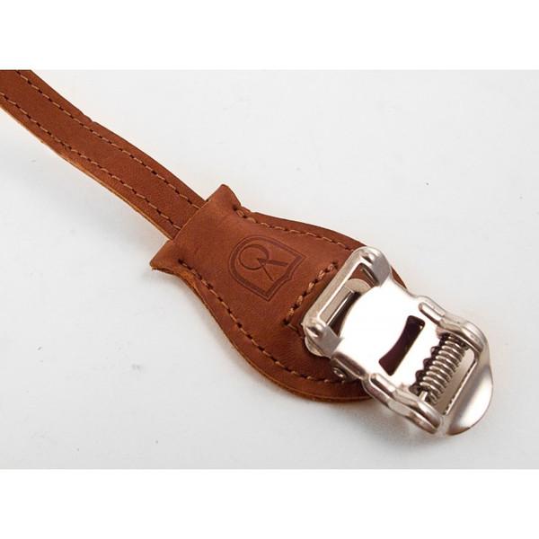 Velo Orange Grand Gru Laminated Leather Toe Straps