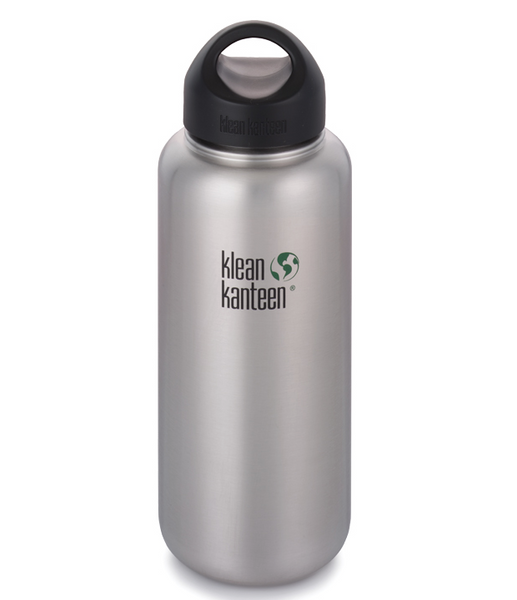 Klean Kanteen Wide Mouth Brushed Stainless