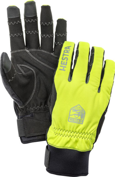 Hestra Gloves Ergo Grip Long Hi-Vis