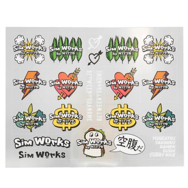 SimWorks All Star Decal Kit