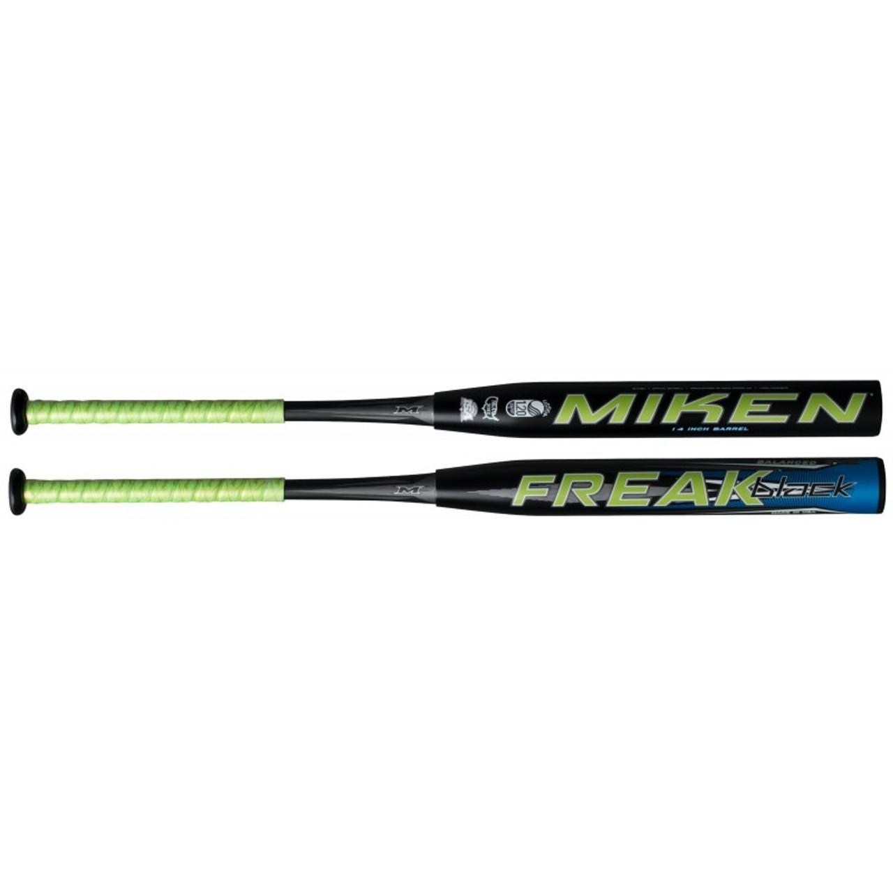 Miken 2020 Freak PRIMO Balanced USSSA Slowpitch Softball Bat 28 oz 14 inch Barrel Length