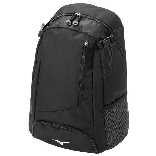 Mizuno Prospect Baseball Softball Pack Backpack Bag (Black)