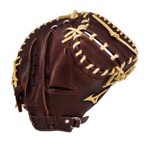 Mizuno GXC90B1 Franchise Series 33.5 inch Baseball Catchers Mitt (Left Hand Throw)