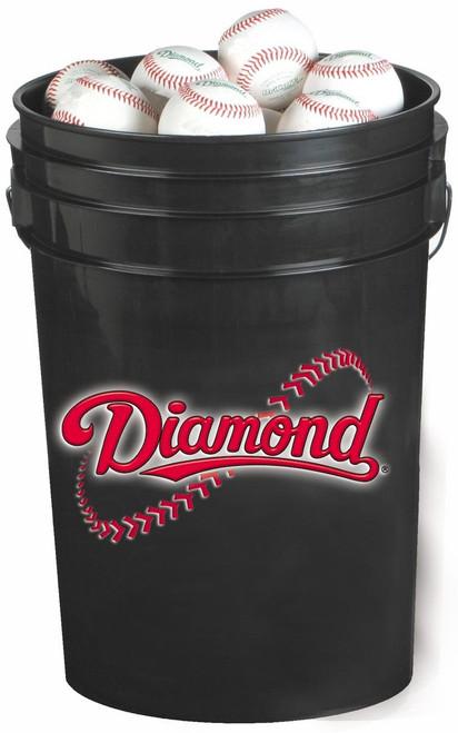 Diamond Bucket with 30 Diamond DBX Baseballs