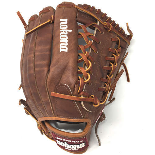 Nokona WB-1275M Walnut Baseball Glove 12.75 inch Right Handed Throw