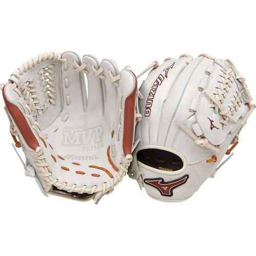 Mizuno GMVP1177PSE2 Baseball Glove MVP Prime 11.75 inch (Silver/Brown, Right Hand Throw)