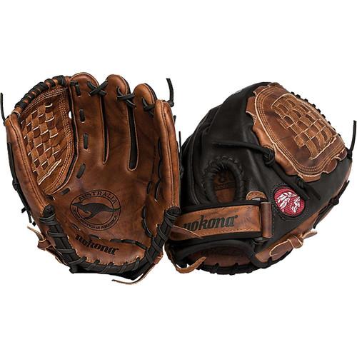 Nokona BKF-1250C-Blk Fastpitch Softball Glove 12.5 inch Right Hand Throw