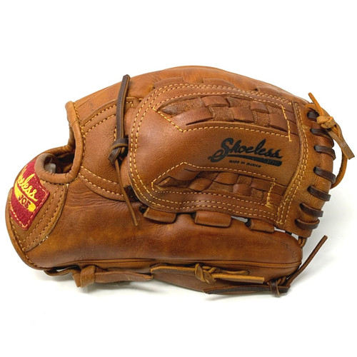 Shoeless Joe 12 inch Basket Web Baseball Glove (Right Handed Throw)