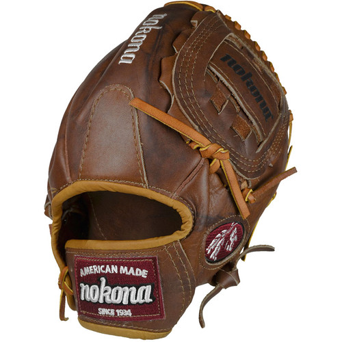 Nokona Walnut WB-1200C 12 inch Baseball Glove Right Handed Throw