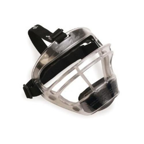 Markwort Game Face Softball Safety Mask - Large (Black, Clear)