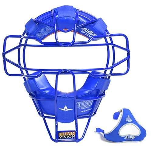 Allstar Lightweight Ultra Cool Tradional Mask Delta Flex Harness Black (Royal)