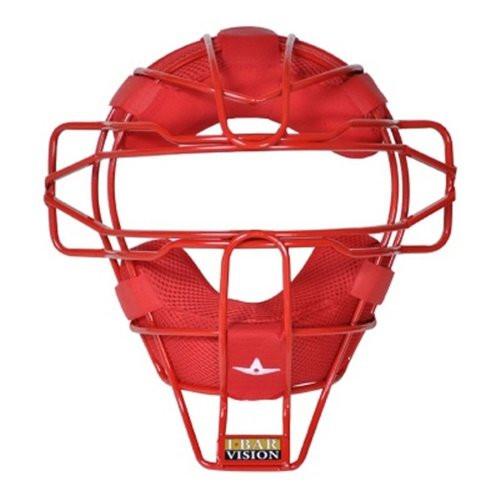 Allstar Lightweight Ultra Cool Tradional Mask Delta Flex Harness Black (Scarlet)