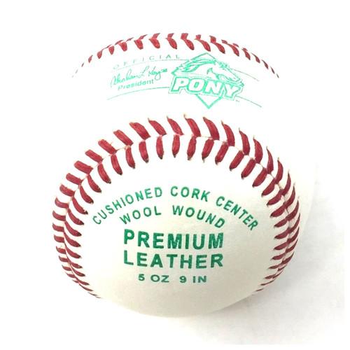 Diamond Pony League Cushioned Cork Center Baseballs 1 Doz Tournament Grade