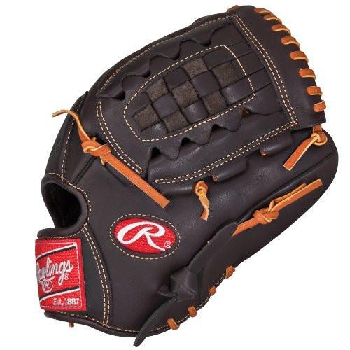 Rawlings Gamer Mocha Series GXP1175 Baseball Glove 11.75 (Left Hand Throw)