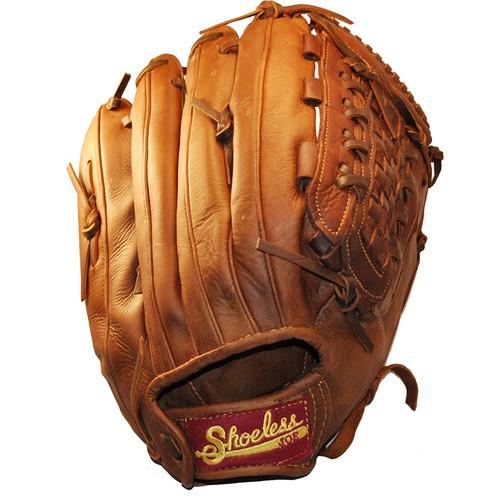 Shoeless Joe Mens 14 inch Softball Glove 1400BW Right Hand Throw