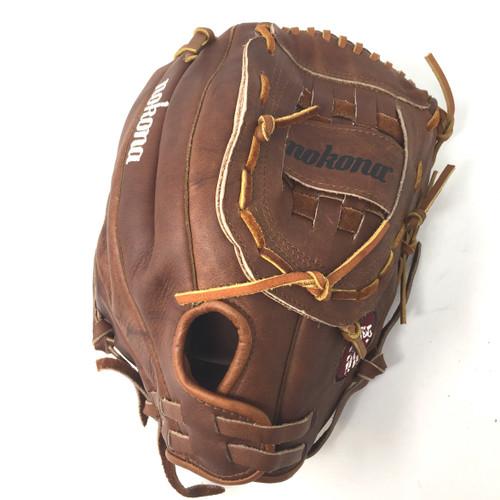"Nokona Classic Walnut 13"" Softball Glove (Right Handed Throw) Size 13"""