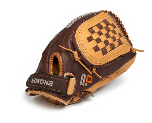 Nokona Alpha Select Youth Baseball Glove 12 inch Ages 12-16 Right Handed Throw