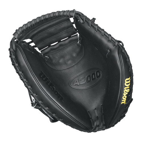 Wilson A2000 Baseball Catchers Mitt Black Right Hand Throw 33 Inch