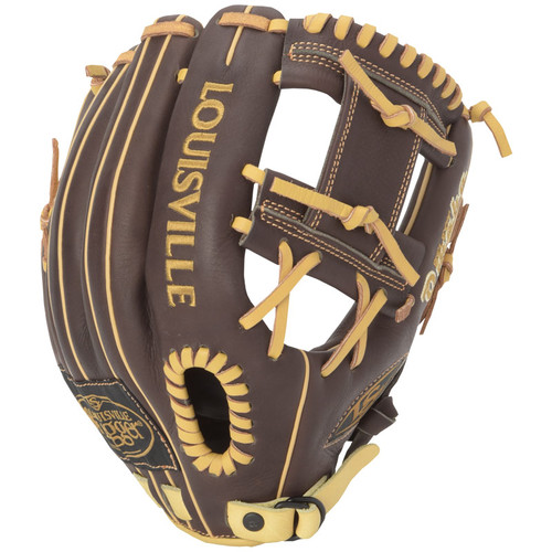 Louisville Slugger Omaha Select Brown 11 inch Right Hand Throw Baseball Glove