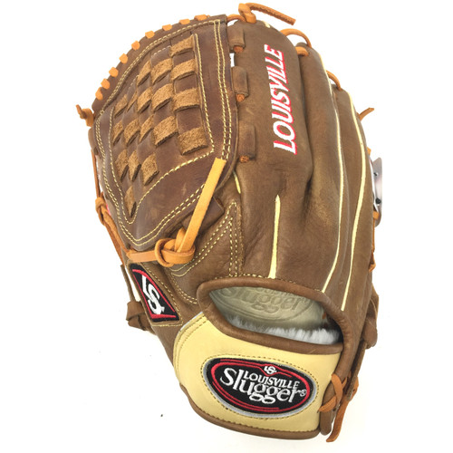 Louisville Slugger Omaha Pure Brown 12 inch Baseball Glove Left Hand Throw