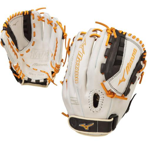 Mizuno GMVP1300PSEF4 MVP Prime SE Gloves Silver Black Right Hand Throw