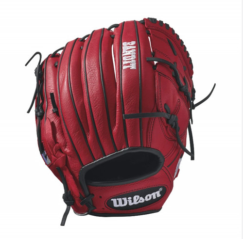 Wilson Bandit B212 Baseball Glove 12 inch Red Left Hand Throw