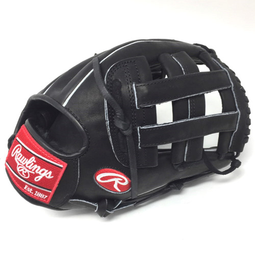 Rawlings Heart of the Hide PRO1000HCB Baseball Glove 12 inch H Web Right Hand Throw