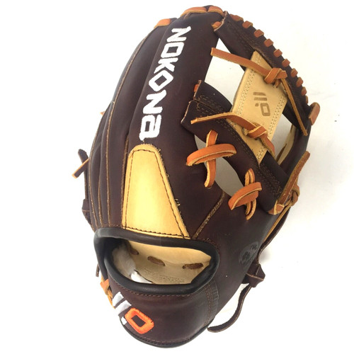 Nokona Alpha S-1150-I Baseball Glove 11.5 Right Hand Throw