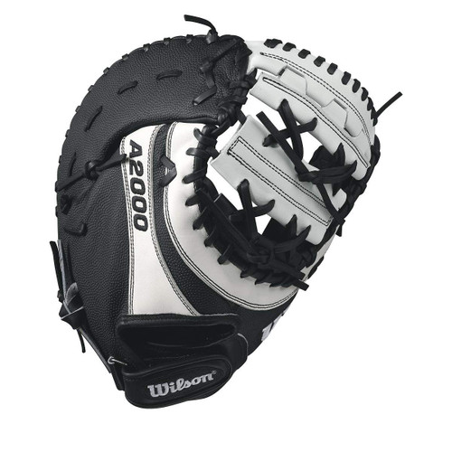 Wilson A2000 BM12 SuperSkin Fastpitch Softball Glove BlackWhite 12 Left Hand Throw
