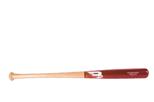 B45 Yellow Birch Wood Baseball Bat B141 30 Day Warranty 34 inch