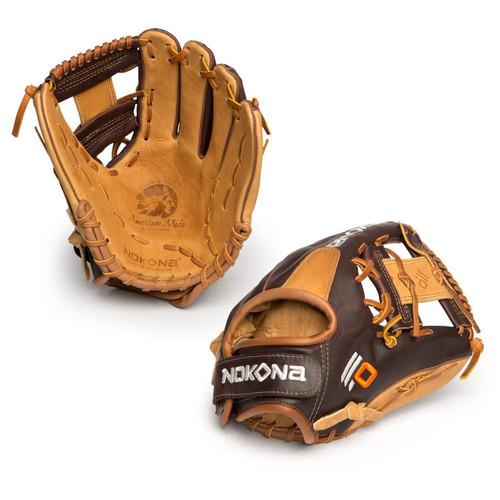 Nokona Alpha Select 11.25 Inch SV1 Youth Baseball Glove