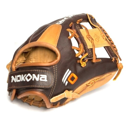 Nokona Alpha Select 11.25 Inch SV1 Youth Baseball Glove Right Hand Throw