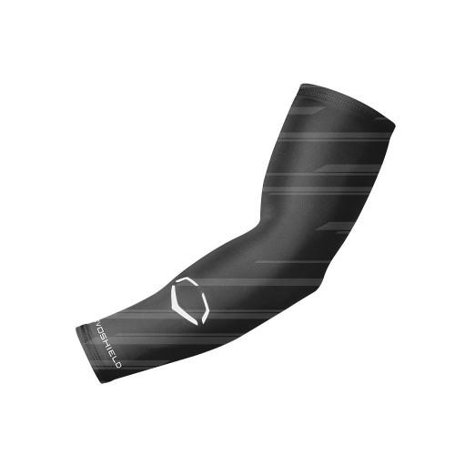 EvoShield Compression Speed Stripe Arm Sleeve Black Small Medium