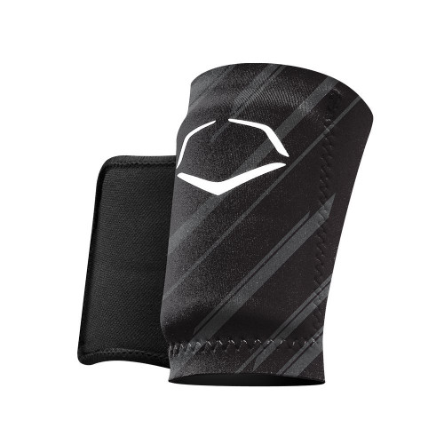 EvoShield MLB Protective Speed Stripe Wrist Guard Black Medium