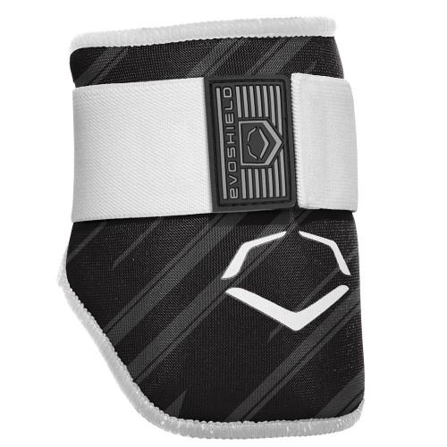 EvoShield MLB Batters Speed Stripe Elbow Guard Black Youth