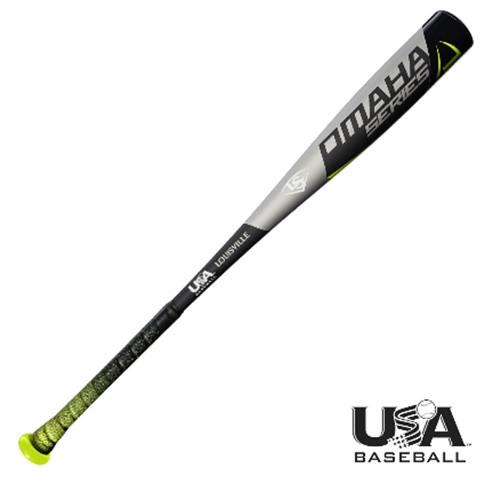 Louisville Slugger 2018 Omaha USA Baseball Bat  2 5/8 Barrel 31 inch 21 oz