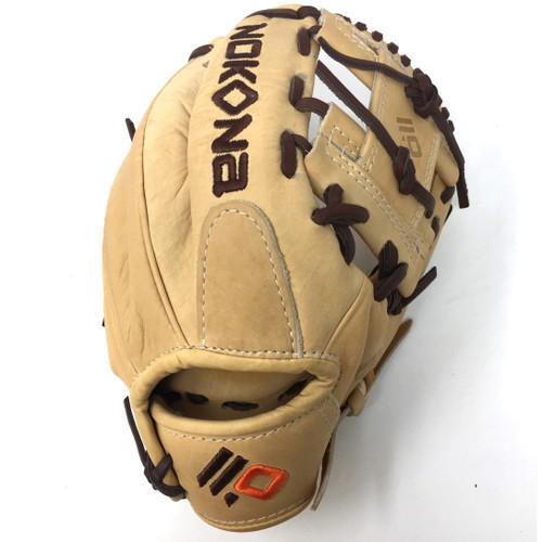 Nokona Alpha Select Series S-100-I Tan 10.5 Youth Baseball Glove Right Hand Throw