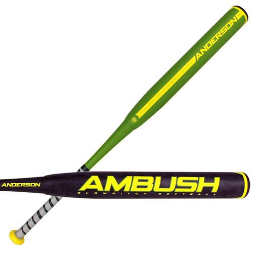 Anderson Bat Company Ambush ASA Slow Pitch Softball Bat  34 inch 28 oz