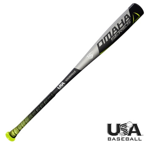 Louisville Slugger 2018 Omaha USA Baseball Bat  2 5/8 Barrel 29 inch 19 oz