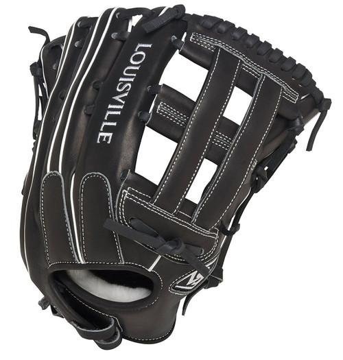 Louisville Slugger FGSZBK5 Super Z Black Fielding Glove 13.5 Inch Left Hand Throw