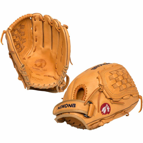 Nokona Supersoft 12.5 Inch XFT-V1250-TN Fastpitch Softball Glove Right Hand Throw