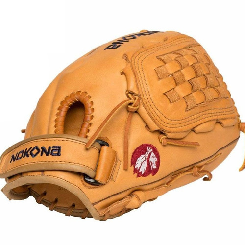 Nokona Supersoft 12.5 Inch XFT-V1250-TN Fastpitch Softball Glove Right Hand Throw