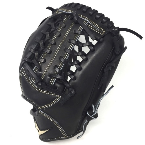 All-Star Pro Elite Black 11.75 Baseball Glove Modified Trap Right Hand Throw