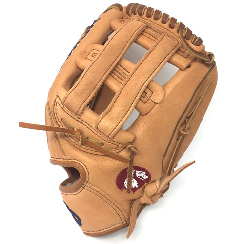 Nokona Supersoft XFT-1175 Tan H Web Baseball Glove 11.75 Right Hand Throw